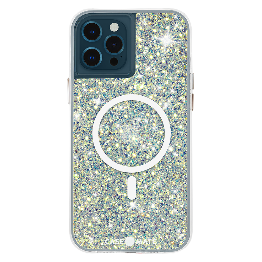 Case-Mate - Twinkle Case with MagSafe for Apple iPhone 12  /  12 Pro - Stardust