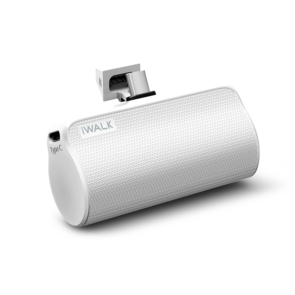 Wholesale cell phone accessory iWALK - LinkMe Plus Power Bank 3,300 for Type C Devices - White