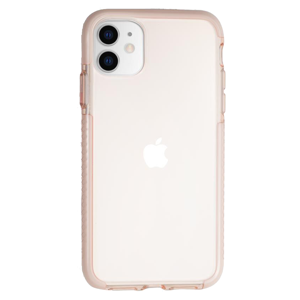 Wholesale cell phone accessory BodyGuardz - Ace Pro 3 Case for Apple iPhone 11 - Pink and White