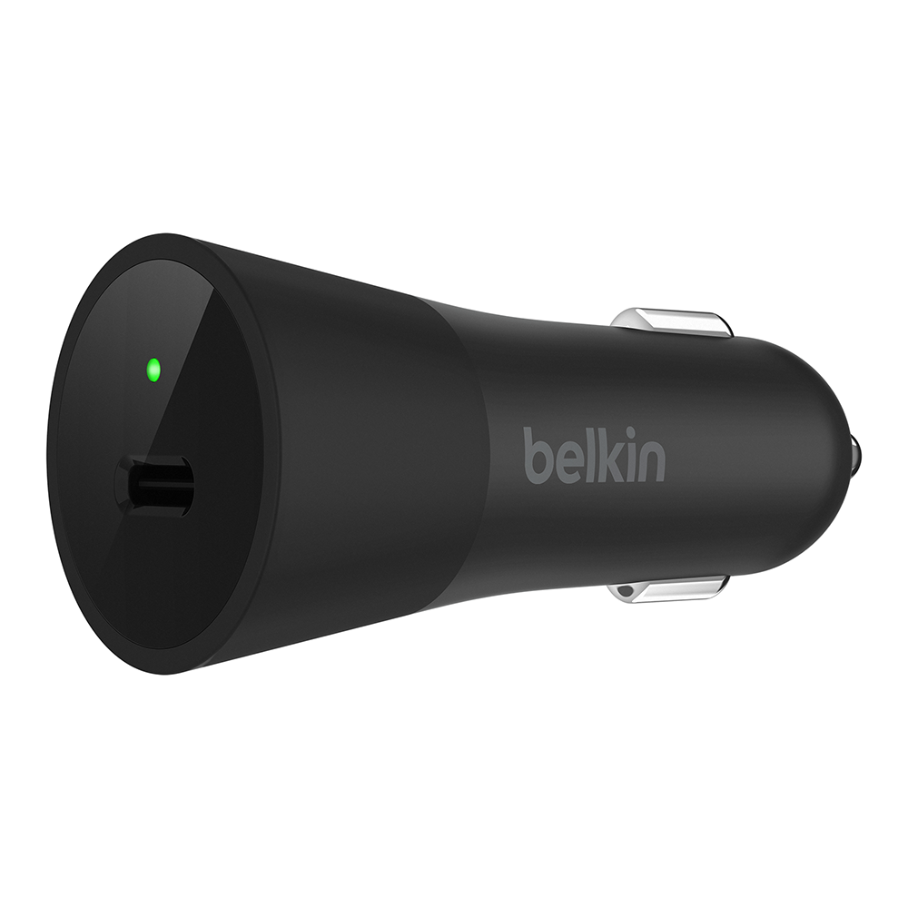 Wholesale cell phone accessory Belkin - Car Charger 36W for Universal Devices Type C - Black