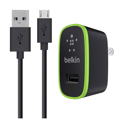 Wholesale cell phone accessory Belkin - Mixit Wall Charger 10W / 2.1A for Micro USB Devices