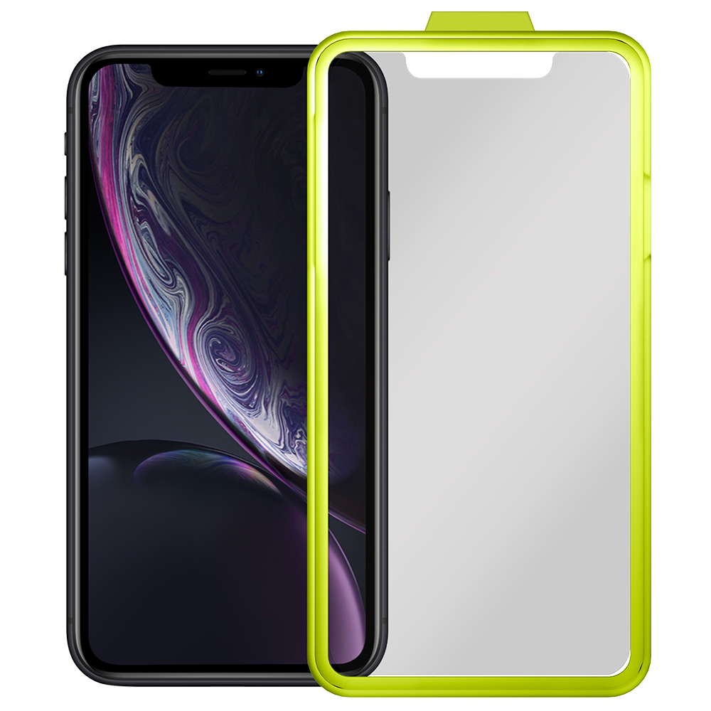 Fortress - Level OATH Glass Screen Protector $200 Guarantee for Apple iPhone XR - Clear