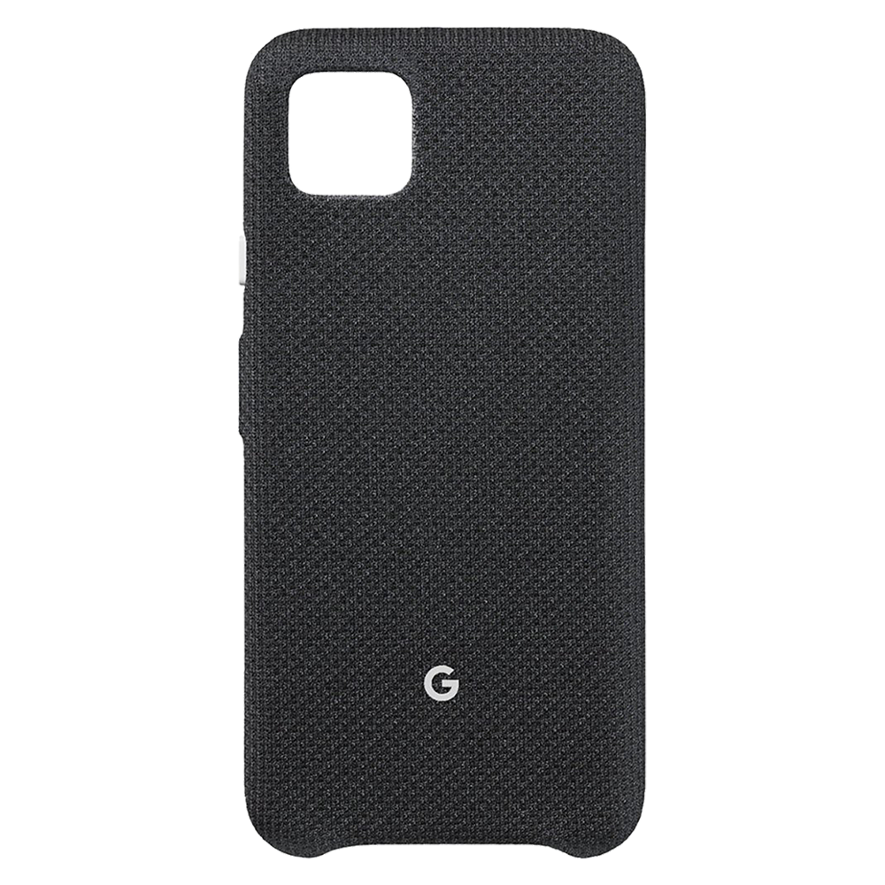 Wholesale cell phone accessory Google - Fabric Case for Google Pixel 4 XL - Just Black