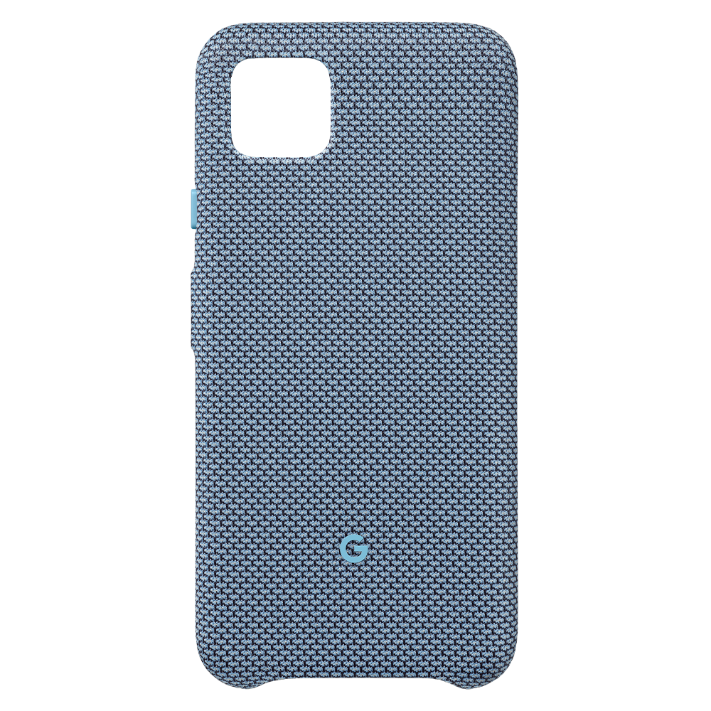 Wholesale cell phone accessory Google - Fabric Case for Google Pixel 4 XL - Blue-ish