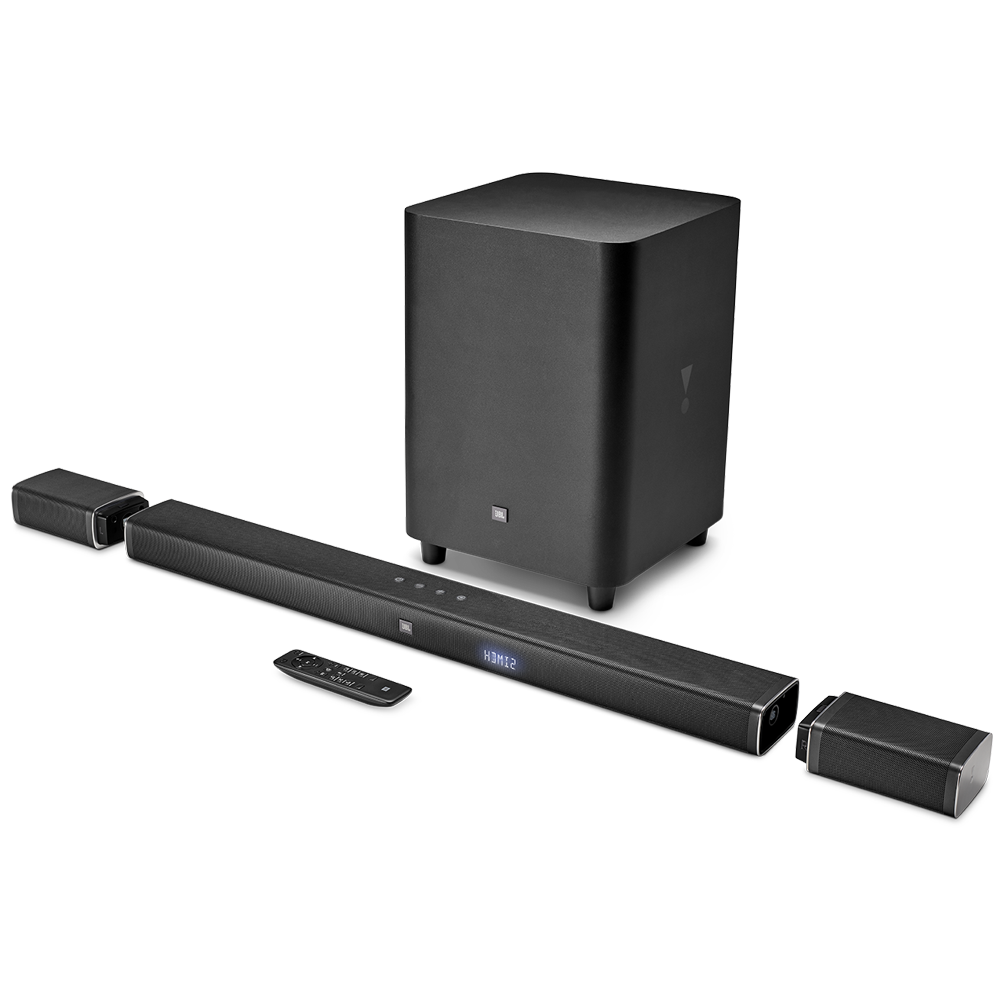 Wholesale cell phone accessory JBL - Bar 5.1 Soundbar with Subwoofer - Black