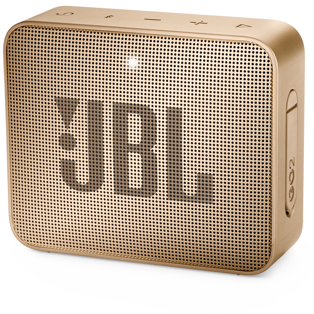 Wholesale cell phone accessory JBL - Go 2 Waterproof Bluetooth Speaker - Champagne Gold