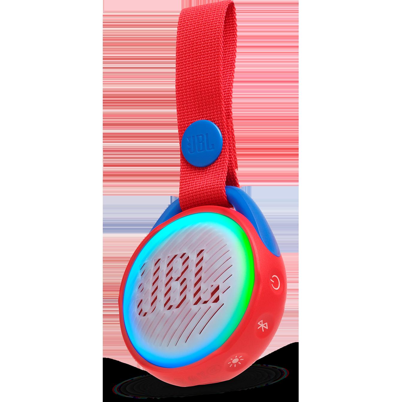 JBL - JR POP Waterproof Bluetooth Speaker - Spider Red