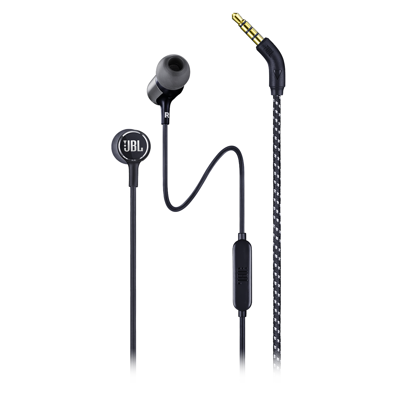 Wholesale cell phone accessory JBL - Live 100 In Ear Wired Headphones - Black