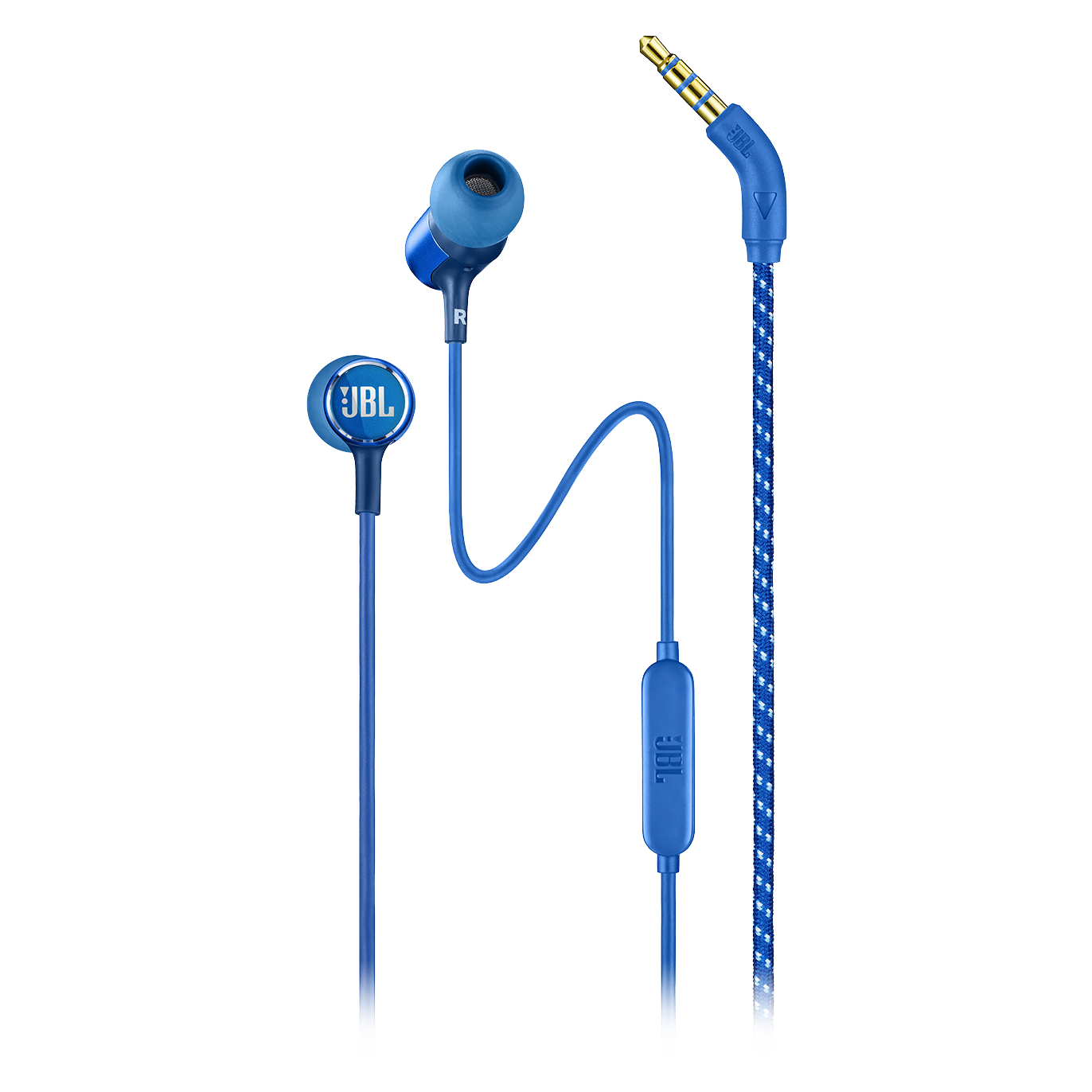 Wholesale cell phone accessory JBL - Live 100 In Ear Wired Headphones - Blue