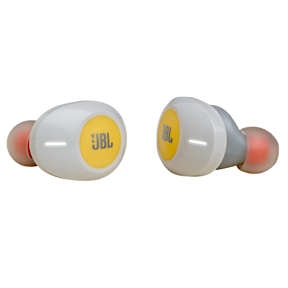 JBL - Tune 120 True Wireless In Ear Bluetooth Headphones - Yellow