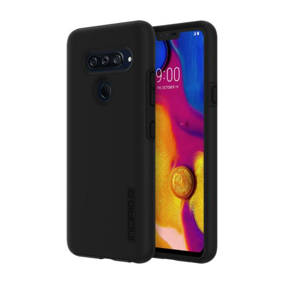 Wholesale cell phone accessory Incipio - DualPro Case for LG V40 ThinQ - Black