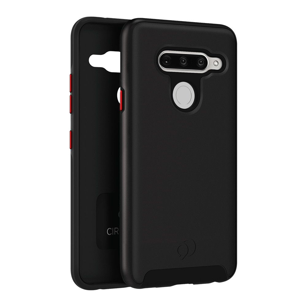 Wholesale cell phone accessory Nimbus9 - Cirrus 2 Case for LG V40 ThinQ - Black