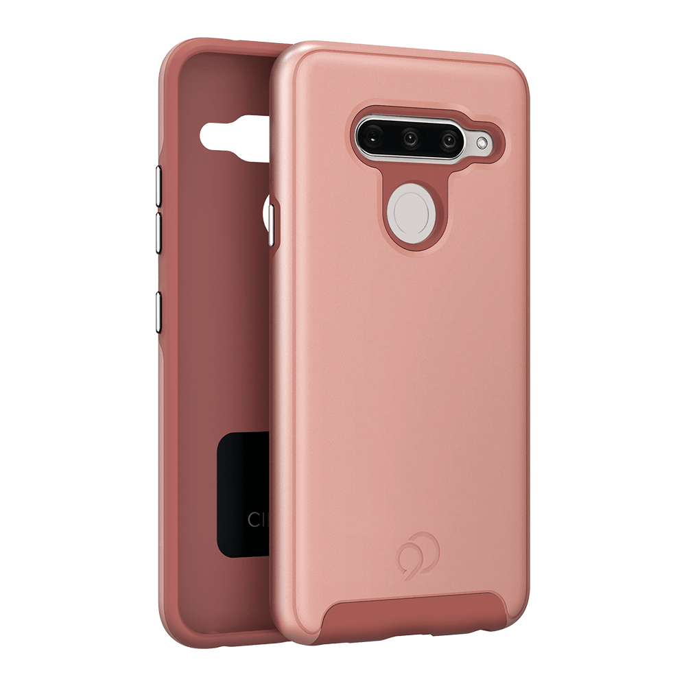 Wholesale cell phone accessory Nimbus9 - Cirrus 2 Case for LG V40 ThinQ - Rose Gold
