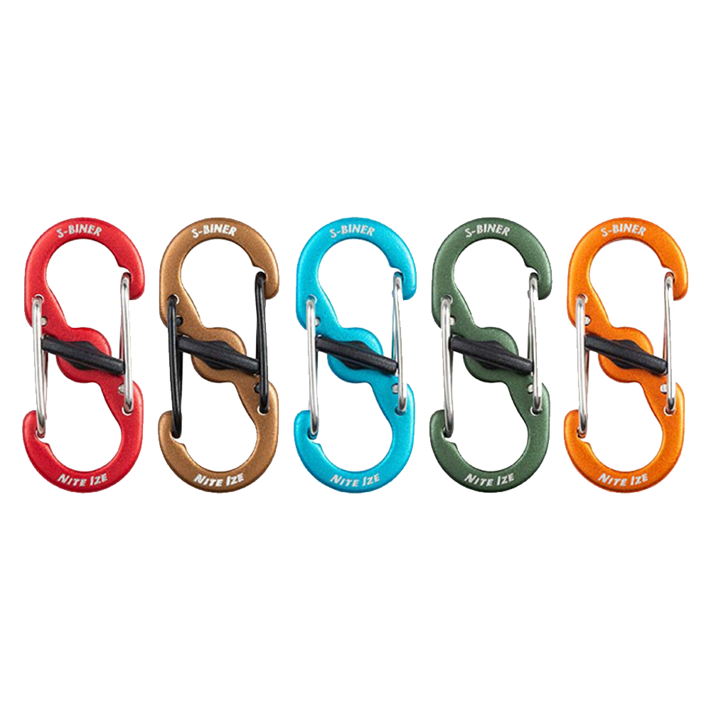 Wholesale cell phone accessory Nite Ize - S-Biner MicroLock Aluminum Clip 5 Pack - Assorted