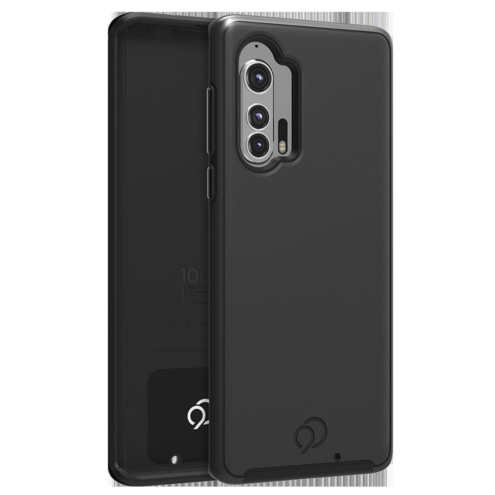 Wholesale cell phone accessory Nimbus9 - Cirrus 2 Case for Motorola Moto Edge Plus - Black