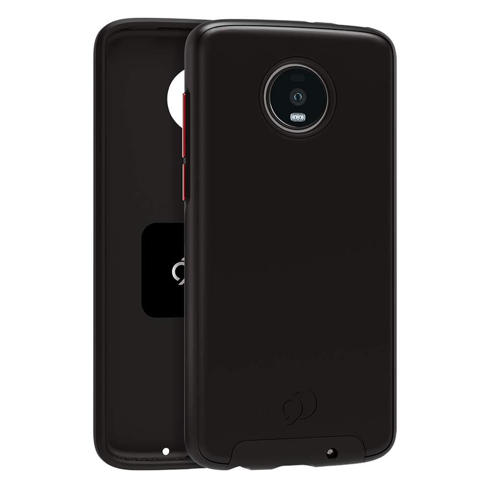 Wholesale cell phone accessory Nimbus9 - Cirrus 2 Case for Motorola Moto Z4  /  Z4 Play - Black