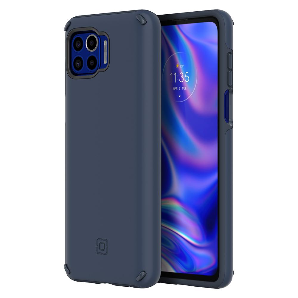 Wholesale cell phone accessory Incipio - Duo Case for Motorola One 5G - Indigo Blue
