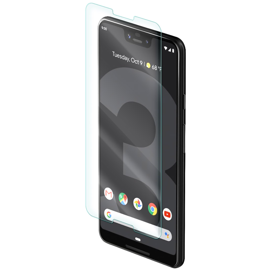 Wholesale cell phone accessory zNitro - Nitro Glass Screen Protector for Google Pixel 3 XL -