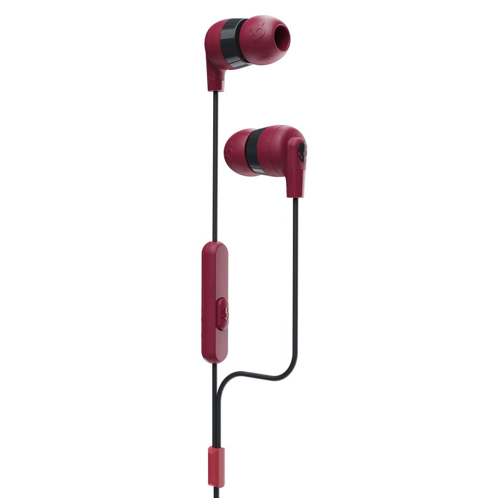 Skullcandy - Ink'd Plus In Ear Wired Headphones - Deep Red