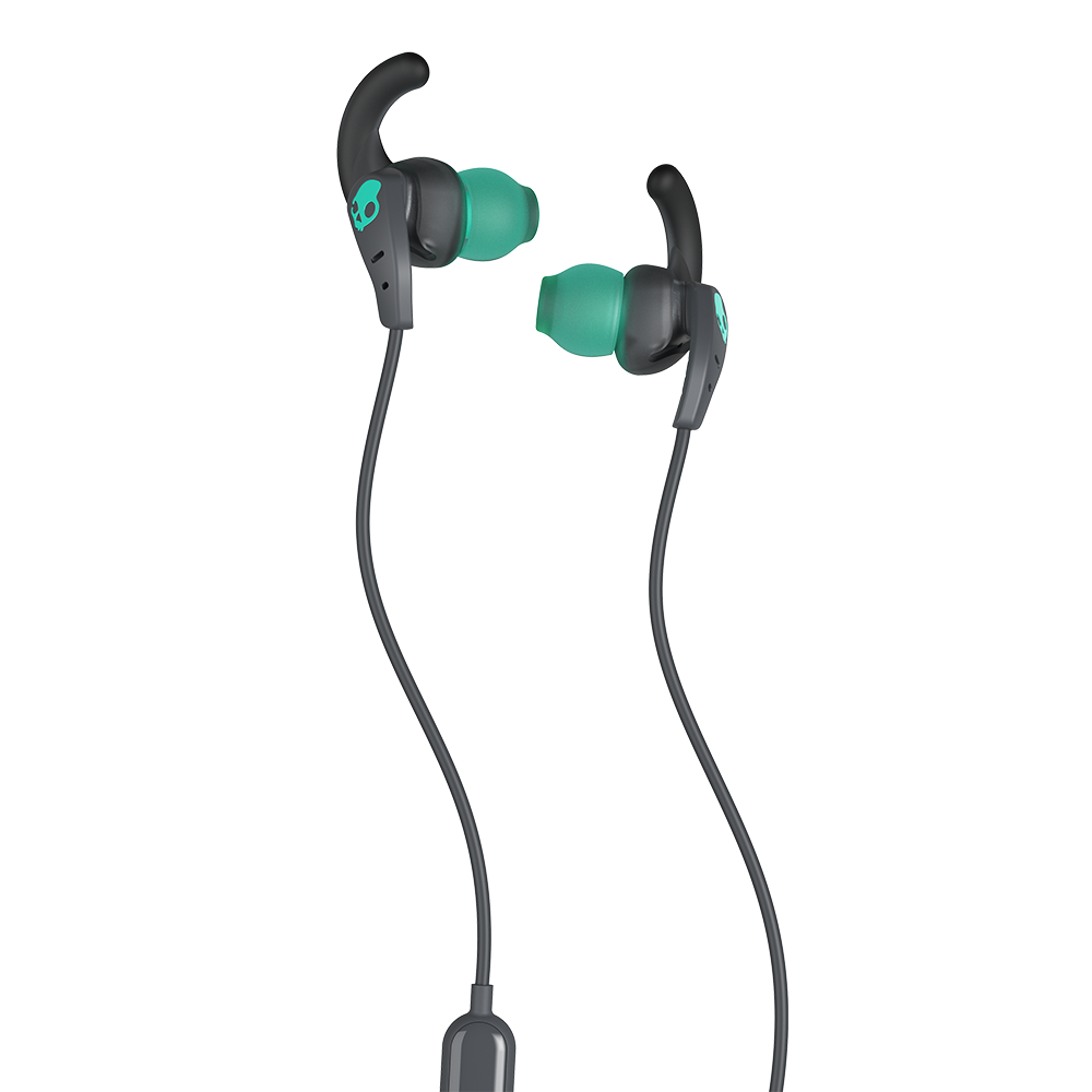 Wholesale cell phone accessory Skullcandy - Set In Ear Wired Headphones - Gray and Miami