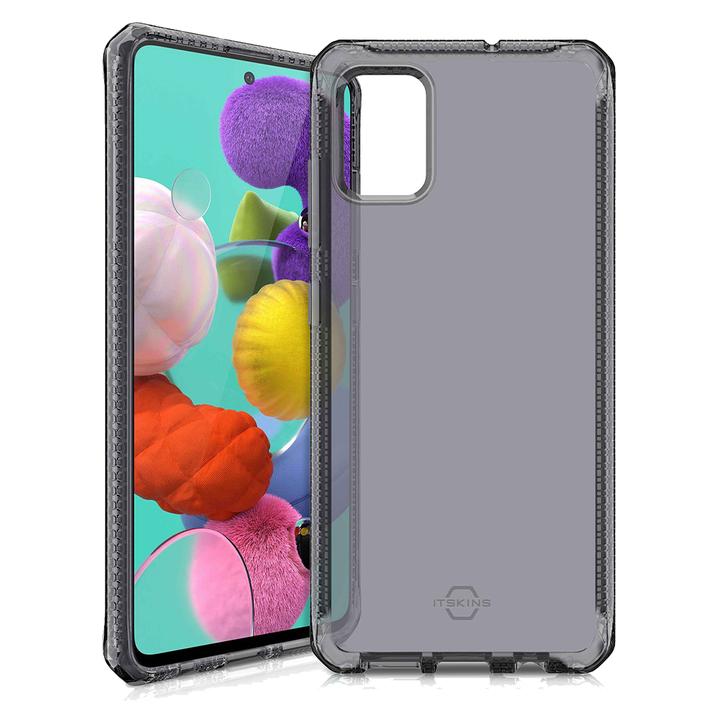 ITSKINS - Spectrum Clear Case for Samsung Galaxy A51 - Smoke