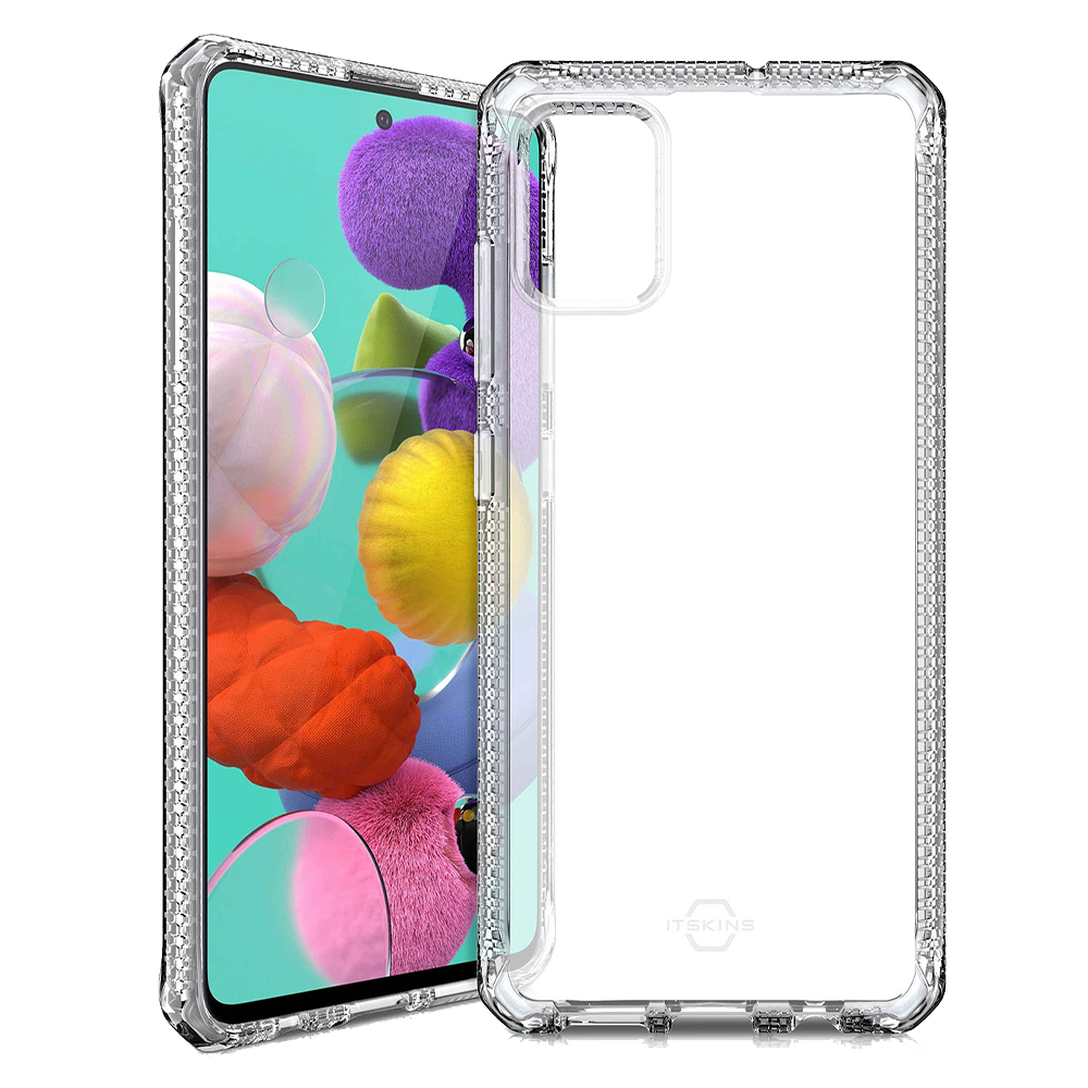 Wholesale cell phone accessory ITSKINS - Spectrum Clear Case for Samsung Galaxy A51 - Transparent