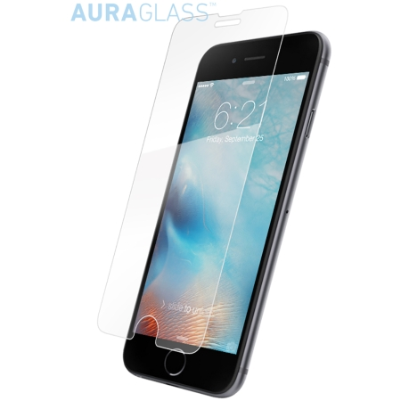 Wholesale cell phone accessory BodyGuardz - AuraGlass Tempered Glass Screen Protection for