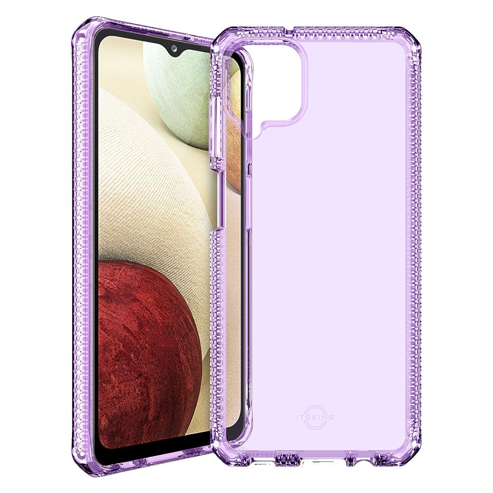 ITSKINS - Spectrum Clear Case for Samsung Galaxy A12 - Light Purple