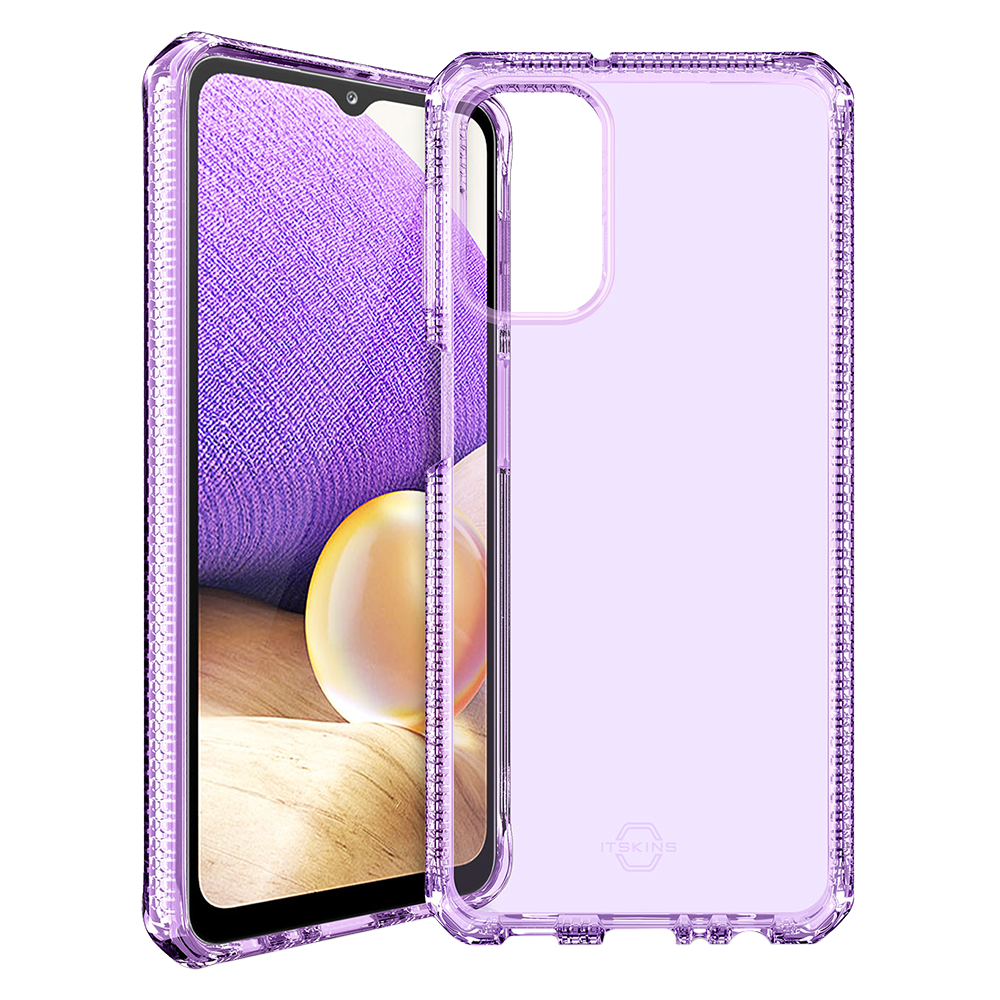 Wholesale cell phone accessory ITSKINS - Spectrum Clear Case for Samsung Galaxy A32 5G - Purple