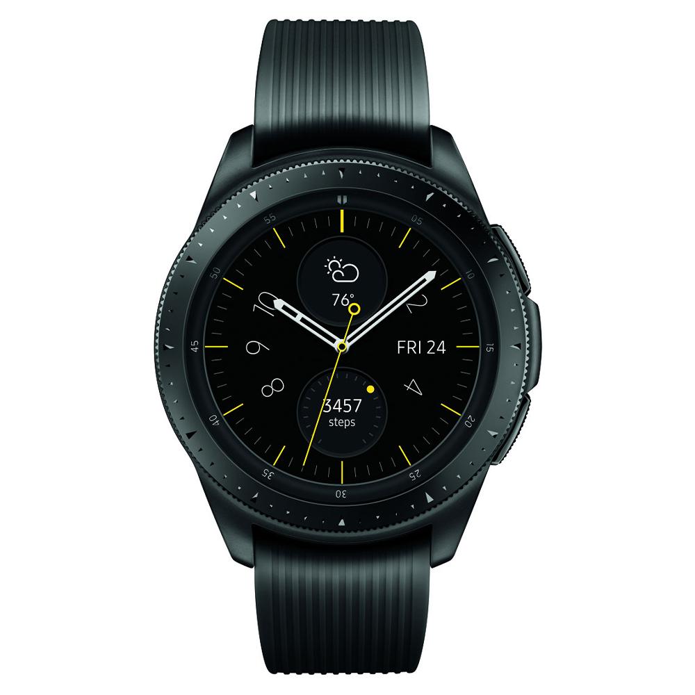Samsung - Galaxy Watch Bluetooth 42mm - Midnight Black