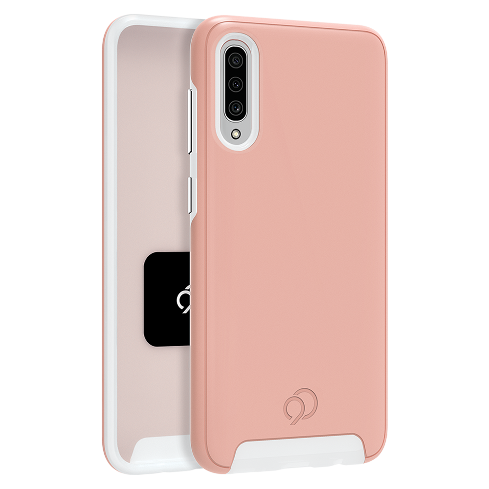 Wholesale cell phone accessory Nimbus9 - Cirrus 2 Case for Samsung Galaxy A50 - Rose Clear