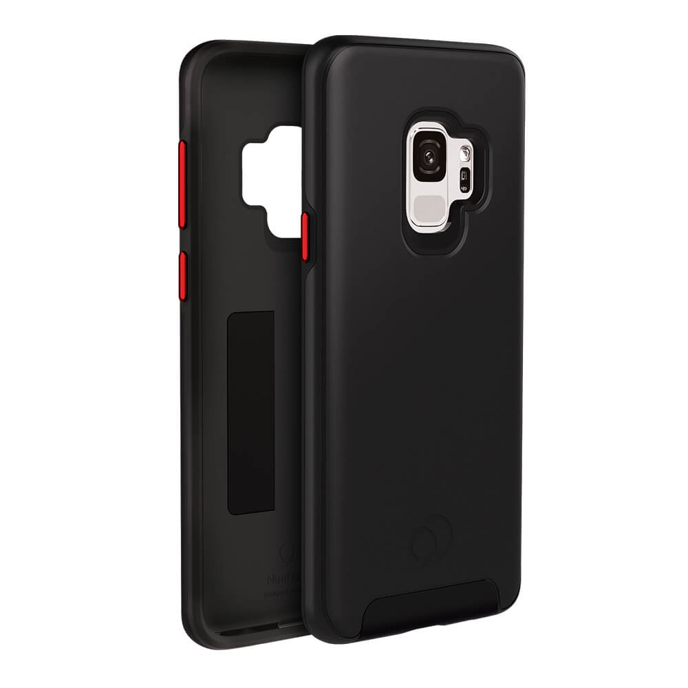Wholesale cell phone accessory Nimbus9 - Cirrus 2 Case for Samsung Galaxy S9 - Black