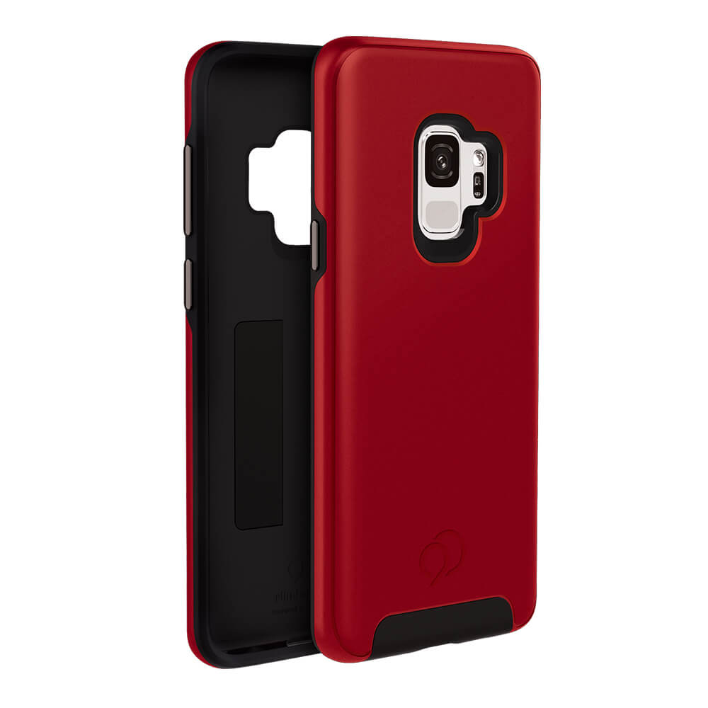 Wholesale cell phone accessory Nimbus9 - Cirrus 2 Case for Samsung Galaxy S9 - Crimson Red