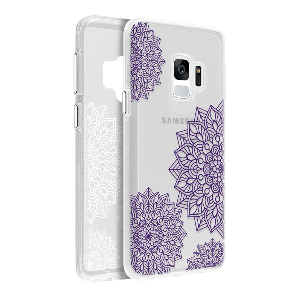 Wholesale cell phone accessory Nimbus9 - Canvas Case for Samsung Galaxy S9 - Purple Twine