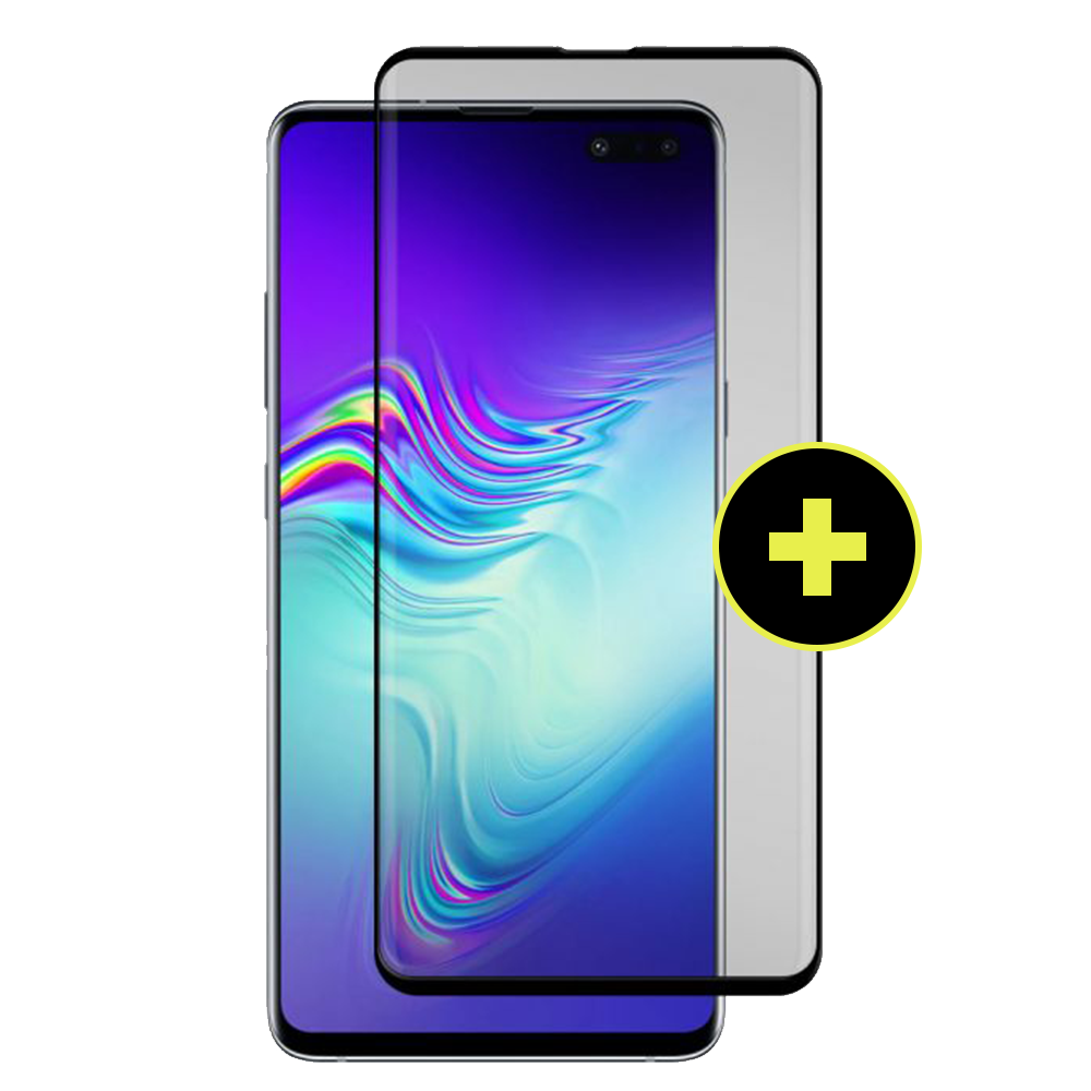 Gadget Guard - Black Ice Plus Cornice Flex Screen Protector for Samsung Galaxy S10 5G - Clear