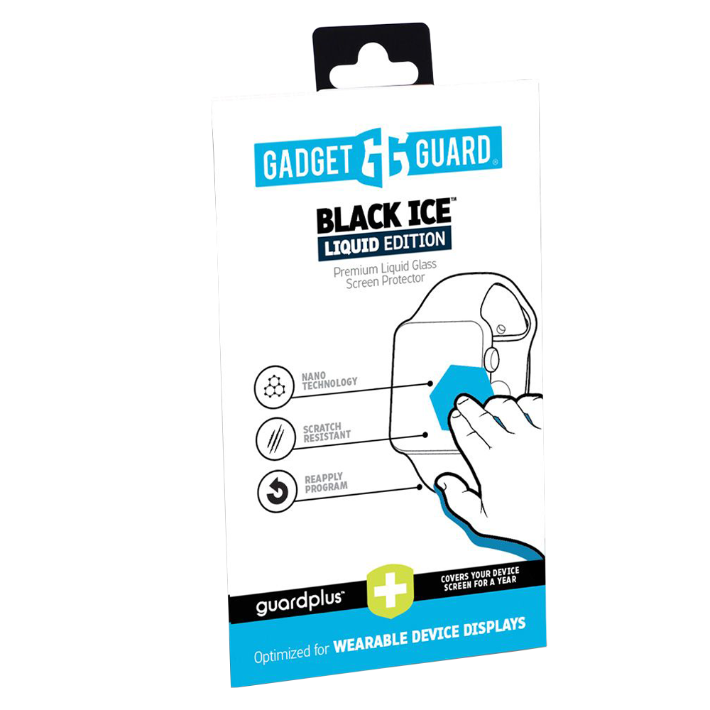 Wholesale cell phone accessory Gadget Guard - Black Ice Plus Liquid Screen Protection for Wearables