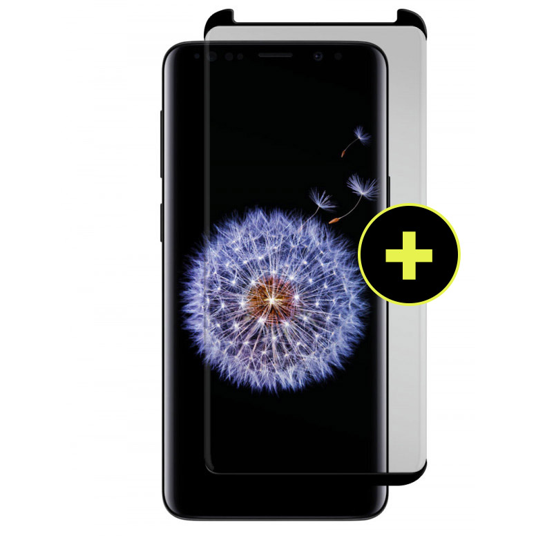 Wholesale cell phone accessory Gadget Guard - Black Ice Plus Cornice Curved Glass Screen Protector