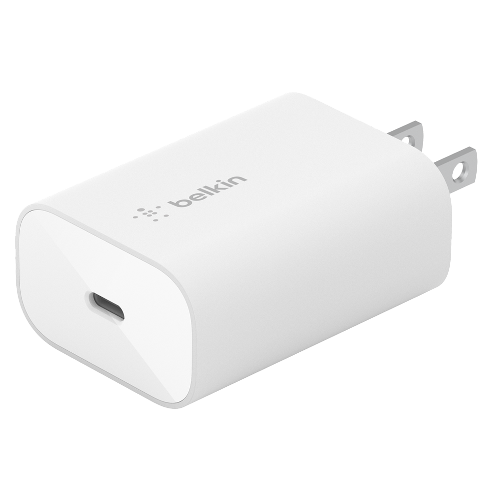 Wholesale cell phone accessory Belkin - Boost Charge 25W USB C PD PPS Wall Charger - White