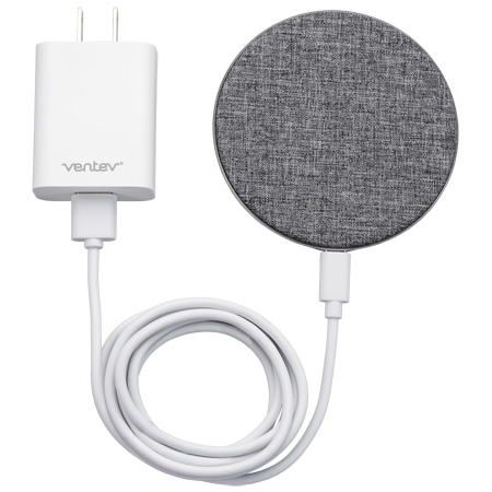 Wholesale cell phone accessory Ventev - wireless chargepad plus 7.5W - Gray and White